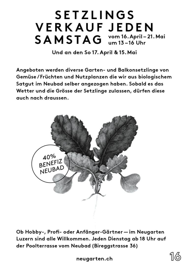 Neugarten-Setzlinsgmarkt